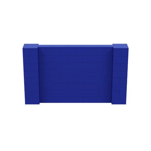7' x 4' Blue Simple Block Wall Kit