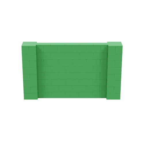 7' x 4' Green Simple Block Wall Kit