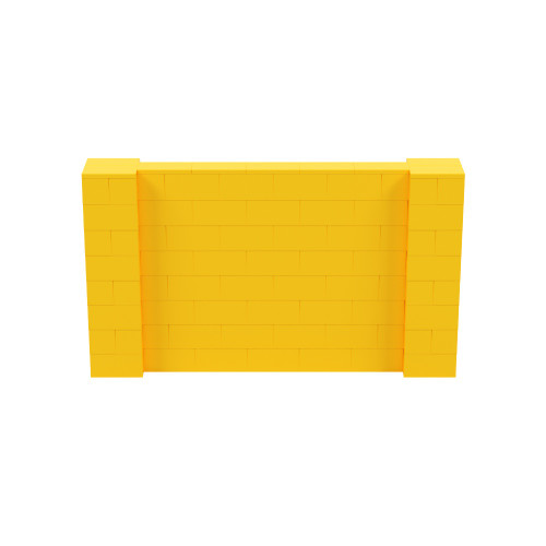 7' x 4' Yellow Simple Block Wall Kit