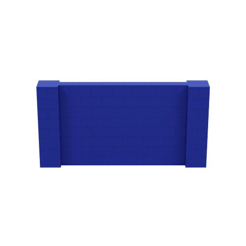 8' x 4' Blue Simple Block Wall Kit