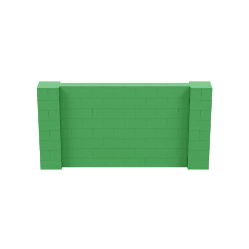 8' x 4' Green Simple Block Wall Kit