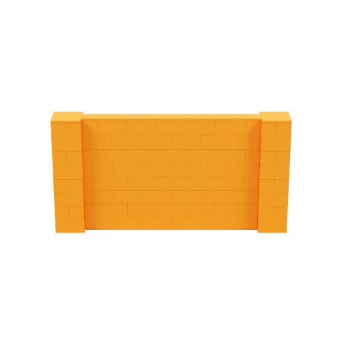 8' x 4' Orange Simple Block Wall Kit