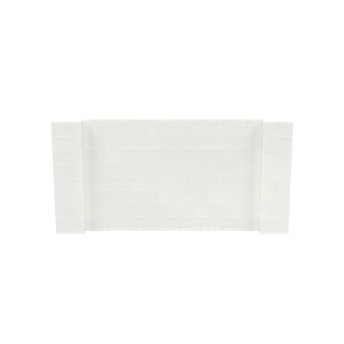8' x 4' Translucent Simple Block Wall Kit