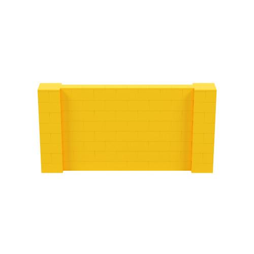 8' x 4' Yellow Simple Block Wall Kit