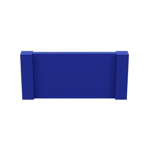 9' x 4' Blue Simple Block Wall Kit