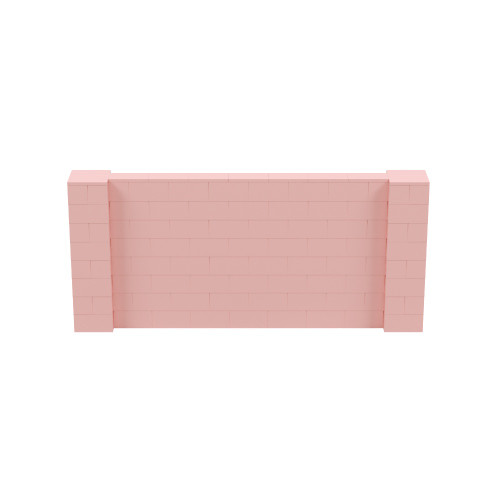 9' x 4' Pink Simple Block Wall Kit
