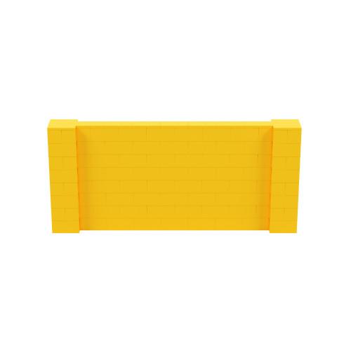 9' x 4' Yellow Simple Block Wall Kit