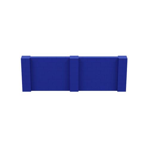 12' x 4' Blue Simple Block Wall Kit