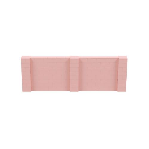 12' x 4' Pink Simple Block Wall Kit