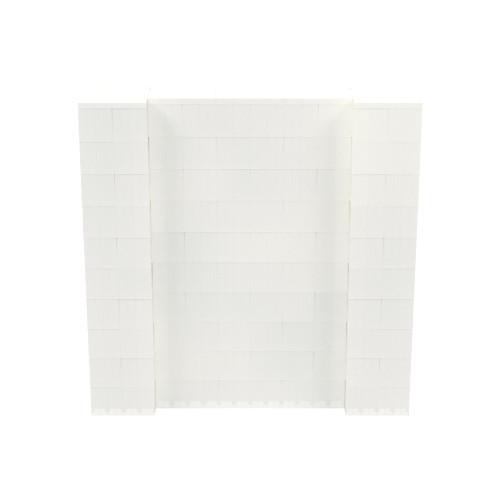 5' x 5' Translucent Simple Block Wall Kit
