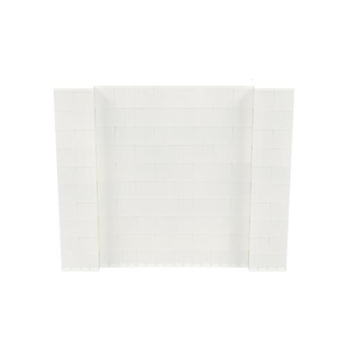 6' x 5' Translucent Simple Block Wall Kit