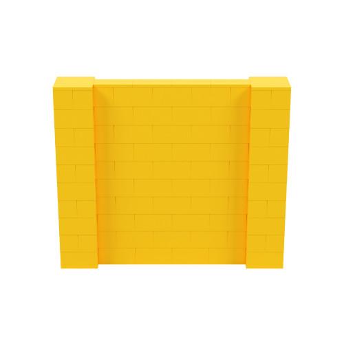 6' x 5' Yellow Simple Block Wall Kit