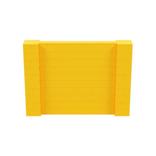 7' x 5' Yellow Simple Block Wall Kit