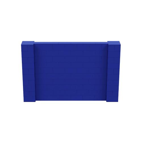 8' x 5' Blue Simple Block Wall Kit