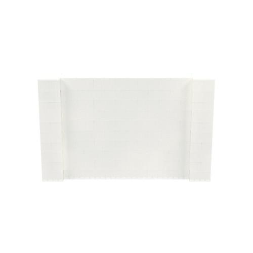 8' x 5' Translucent Simple Block Wall Kit