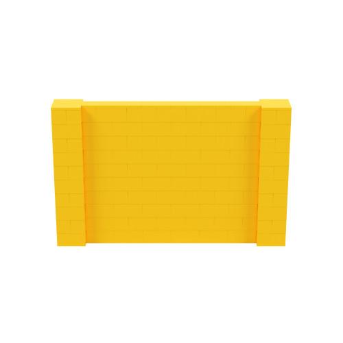 8' x 5' Yellow Simple Block Wall Kit