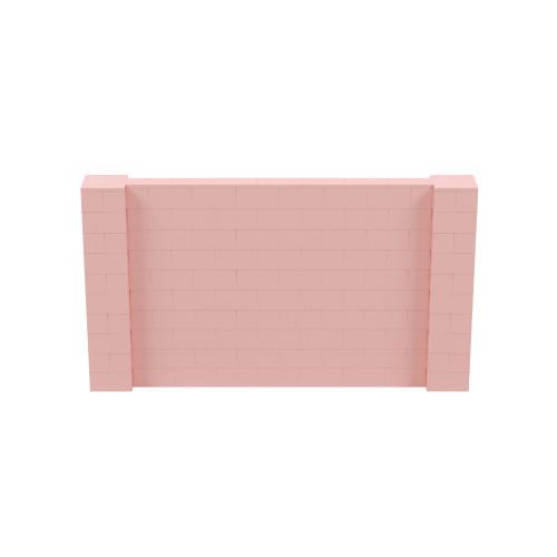 9' x 5' Pink Simple Block Wall Kit