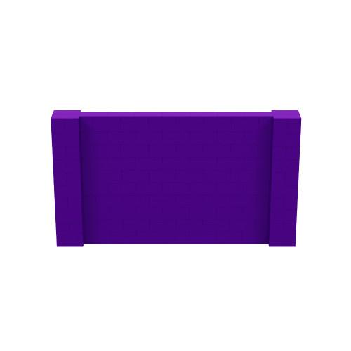 9' x 5' Purple Simple Block Wall Kit