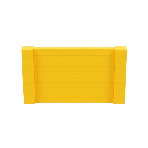 9' x 5' Yellow Simple Block Wall Kit