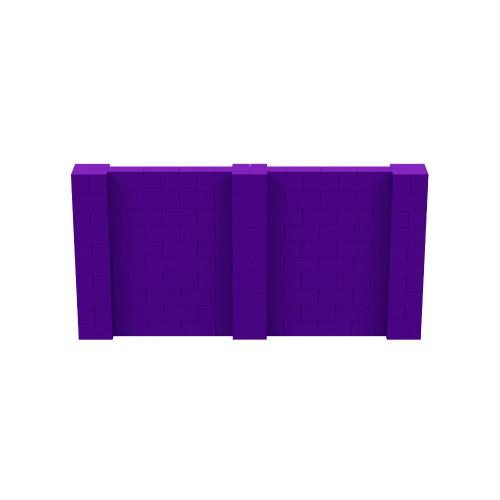 10' x 5' Purple Simple Block Wall Kit