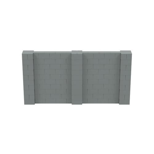 10' x 5' Silver Simple Block Wall Kit