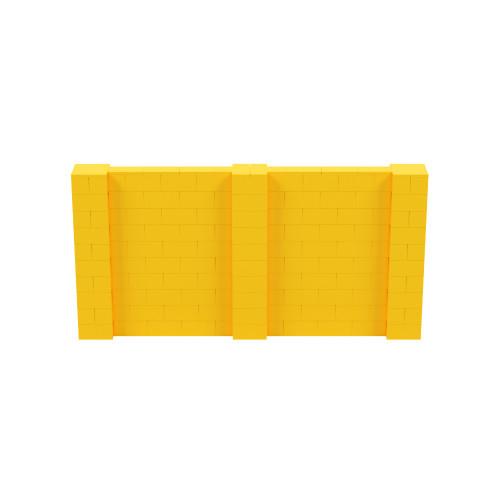 10' x 5' Yellow Simple Block Wall Kit