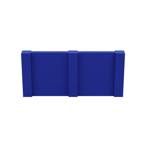 11' x 5' Blue Simple Block Wall Kit