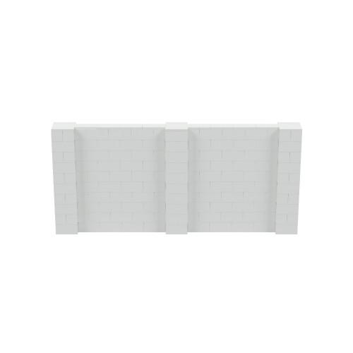 11' x 5' Light Gray Simple Block Wall Kit