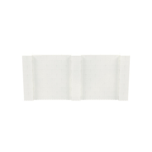 11' x 5' Translucent Simple Block Wall Kit