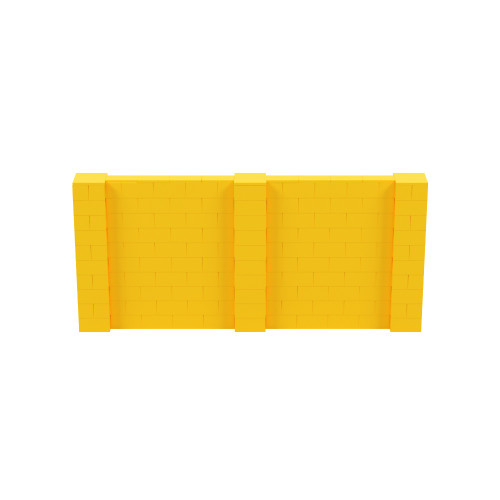 11' x 5' Yellow Simple Block Wall Kit