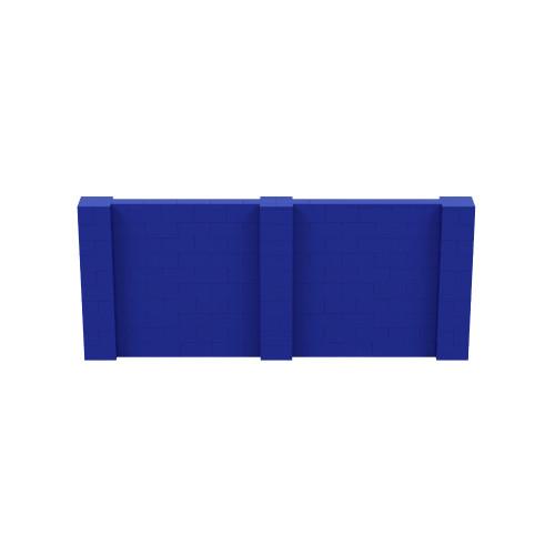 12' x 5' Blue Simple Block Wall Kit