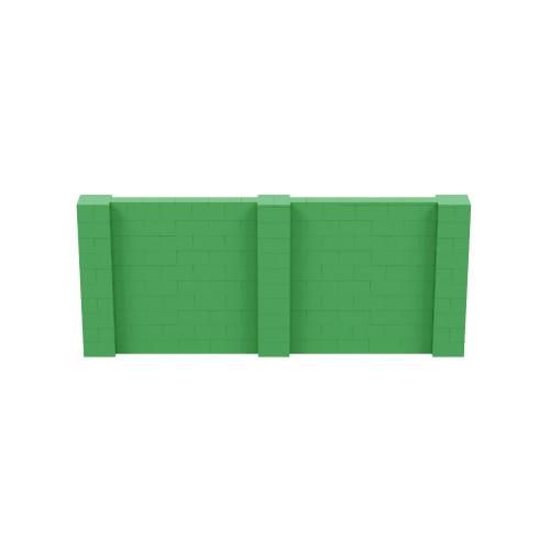 12' x 5' Green Simple Block Wall Kit