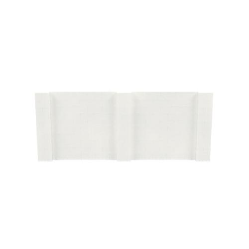12' x 5' Translucent Simple Block Wall Kit