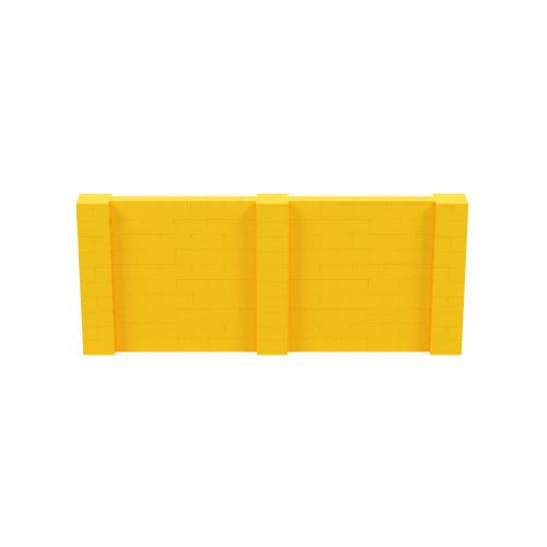 12' x 5' Yellow Simple Block Wall Kit