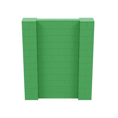 5' x 6' Green Simple Block Wall Kit