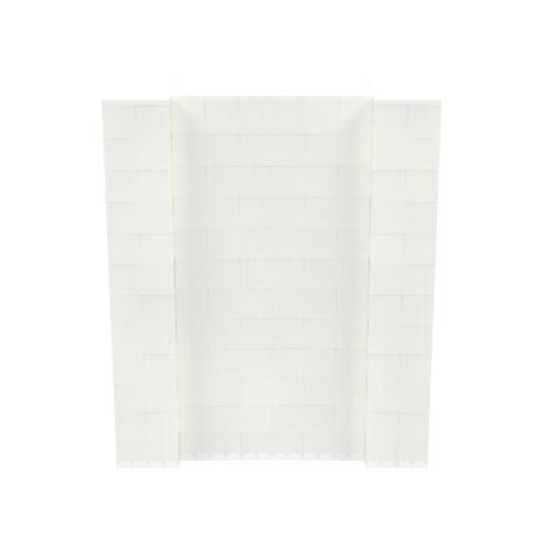 5' x 6' Translucent Simple Block Wall Kit