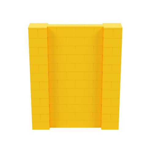 5' x 6' Yellow Simple Block Wall Kit