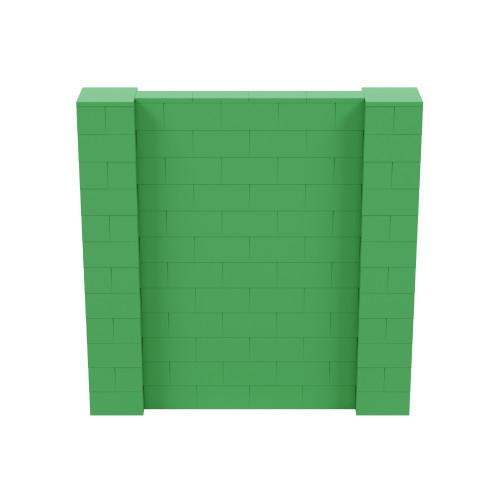 6' x 6' Green Simple Block Wall Kit