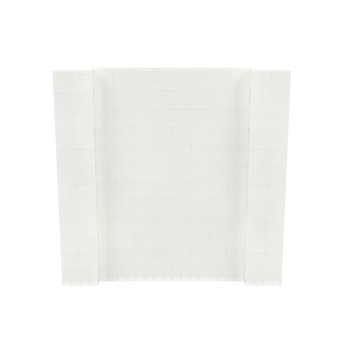 6' x 6' Translucent Simple Block Wall Kit