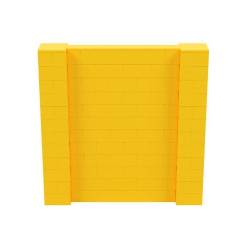 6' x 6' Yellow Simple Block Wall Kit