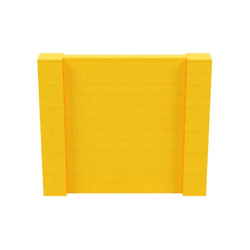 7' x 6' Yellow Simple Block Wall Kit