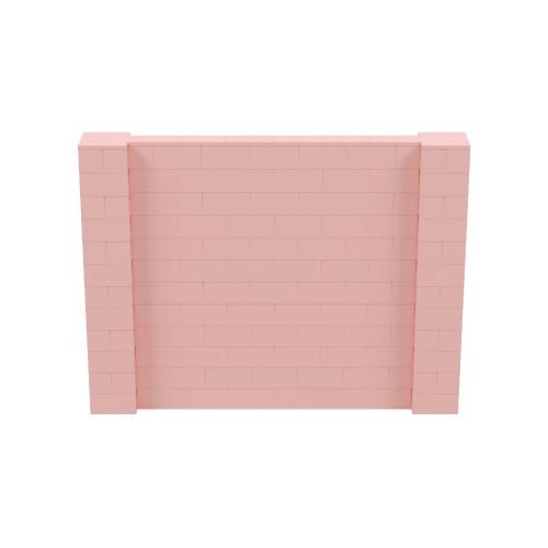 8' x 6' Pink Simple Block Wall Kit