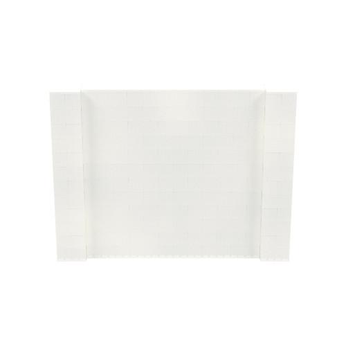 8' x 6' Translucent Simple Block Wall Kit