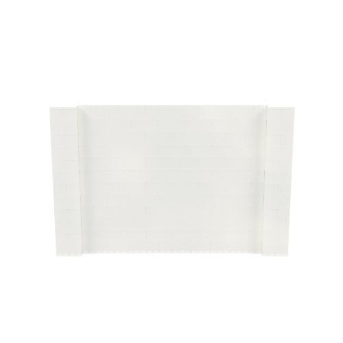 9' x 6' Translucent Simple Block Wall Kit