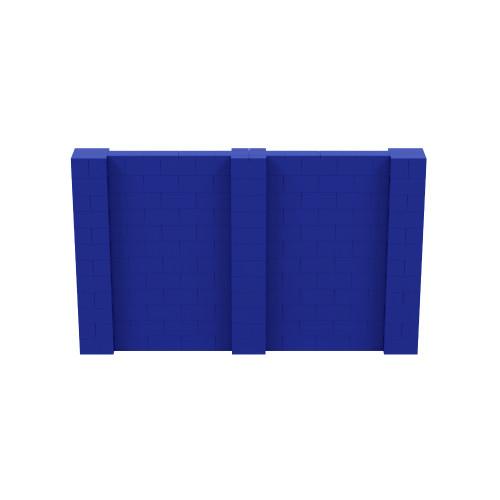 10' x 6' Blue Simple Block Wall Kit