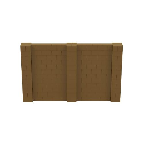 10' x 6' Gold Simple Block Wall Kit