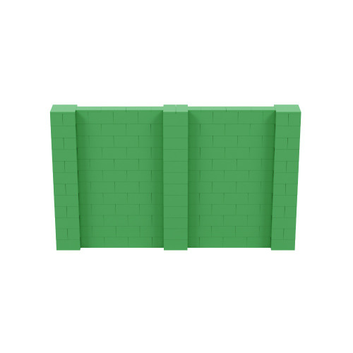 10' x 6' Green Simple Block Wall Kit