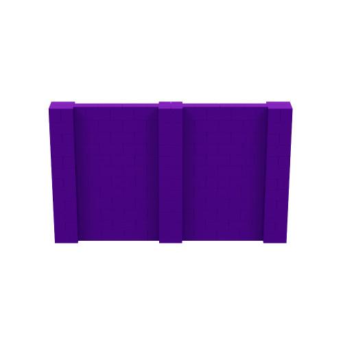 10' x 6' Purple Simple Block Wall Kit