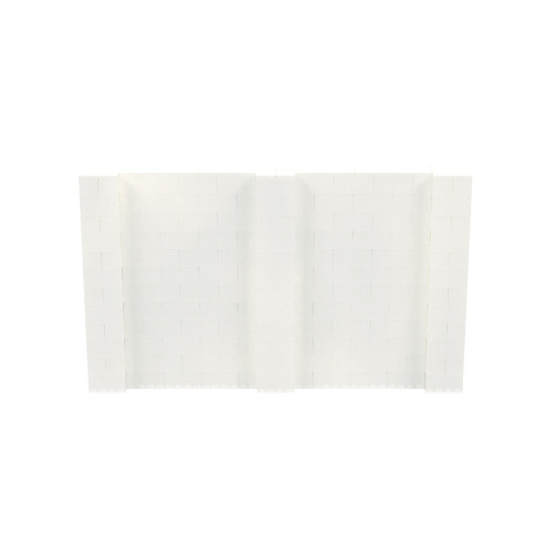 10' x 6' Translucent Simple Block Wall Kit