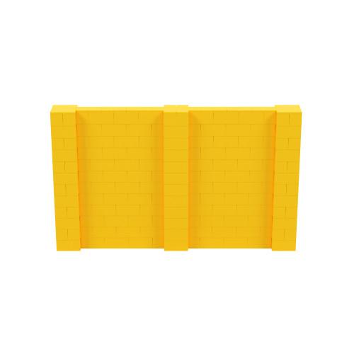 10' x 6' Yellow Simple Block Wall Kit